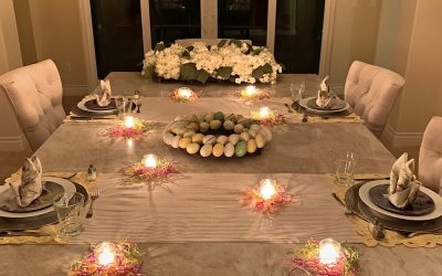 How to Build an Easy Easter Tablescape