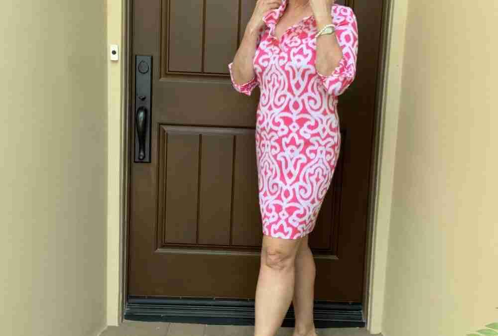 My Versatile Gretchen Scott Dress Worn Out to Dinner with Friends at Lavender Bistro
