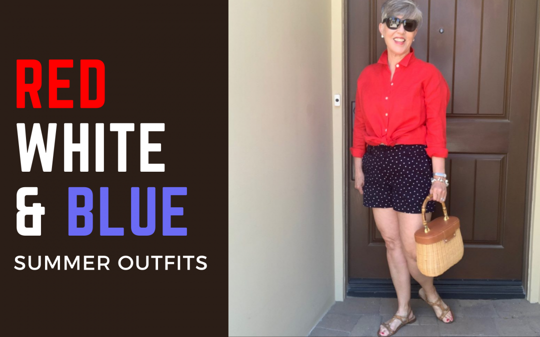 Red, White and Blue Outfits for Summer Holidays