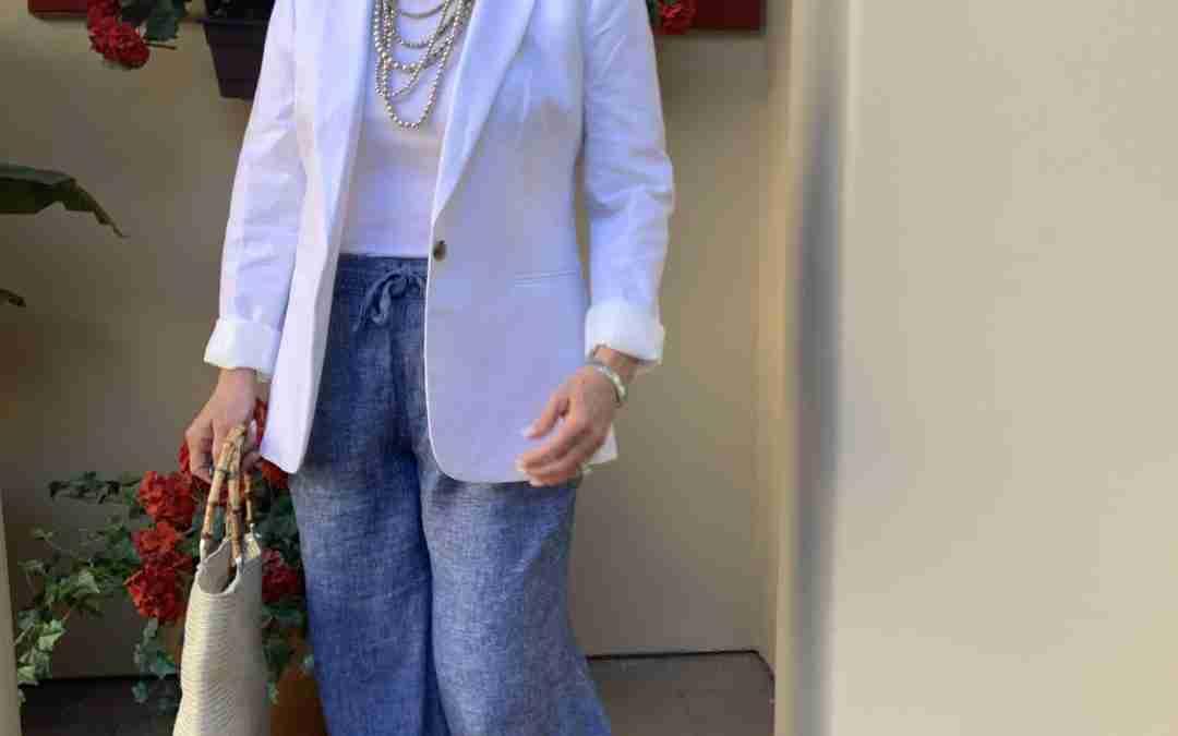 How to Wear a White Blazer Six Ways