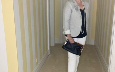 Two Different Ways to Style a Seersucker Jacket