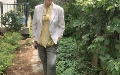 Early Fall Looks: Blazer, Cute Tops and Olive Pants