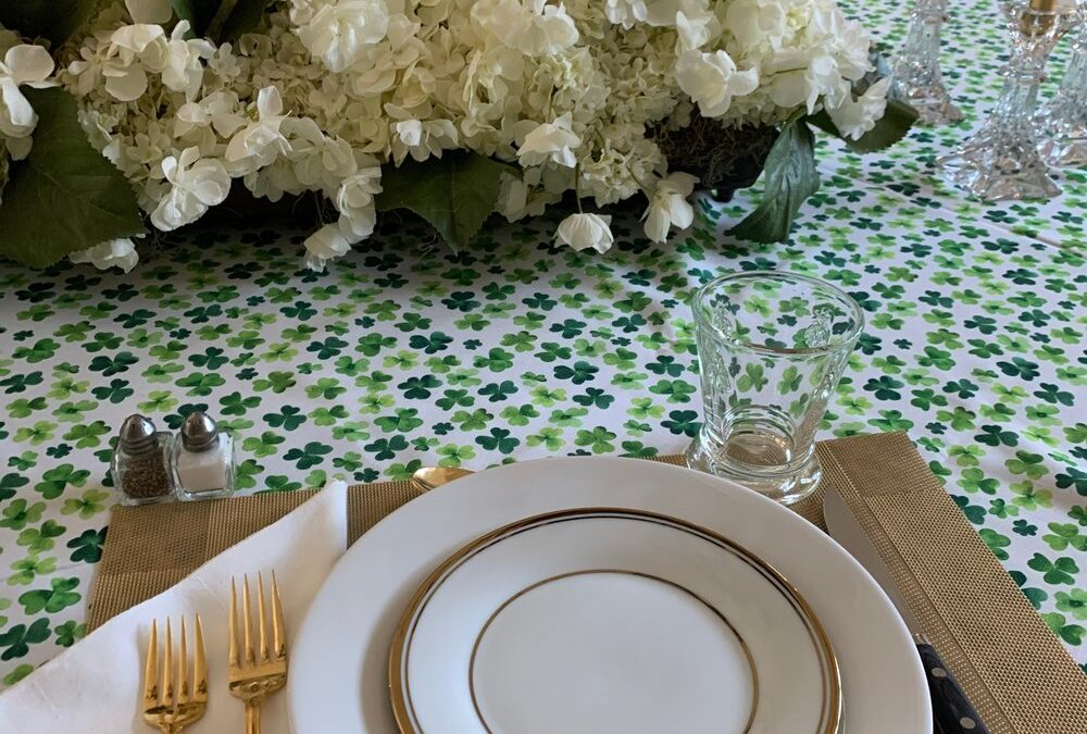 A Lucky St. Paddy's Day Table