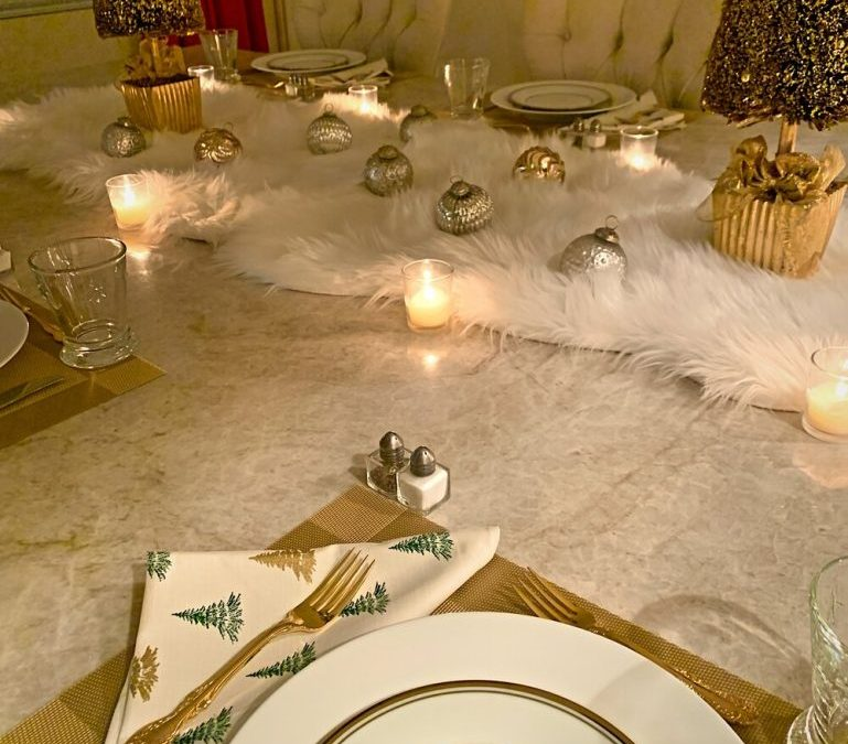 A Fun and Festive New Year's Eve Table